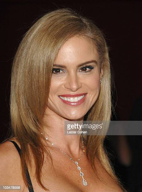 Actress Betsy Russell at the Saw IV premiere at the Mann's Chinese Six on October 23 2007 in Los Angeles California