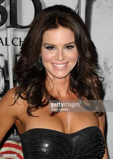 Actress Betsy Russell attends a screening of SAW 3D at Mann's 6 Theatre on October 27 2010 in Hollywood California