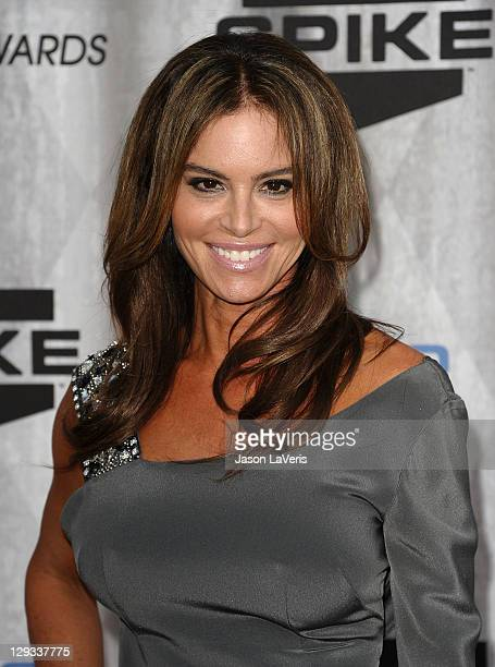 Actress Betsy Russell attends Spike TV's 2011 Scream Awards at Gibson Amphitheatre on October 15 2011 in Universal City California