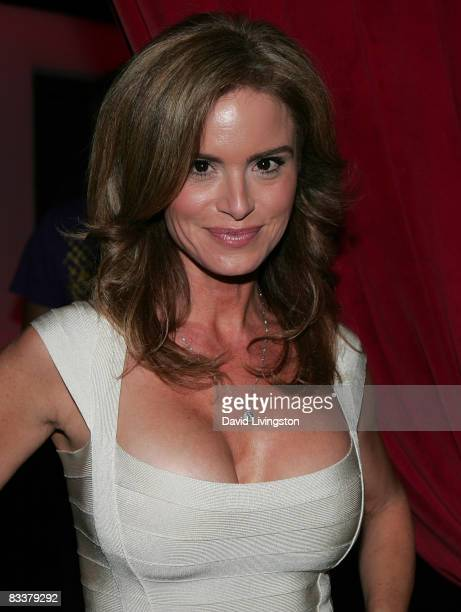 Actress Betsy Russell attends the Lionsgate's Saw V premiere after party at Level 3 on October 21 2008 in Hollywood California