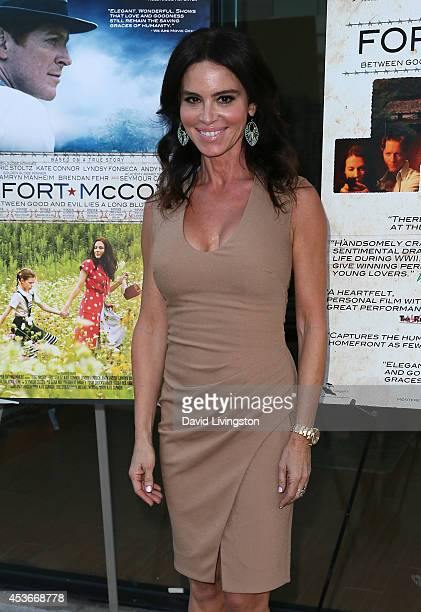 Actress Betsy Russell attends the premiere of Fort McCoy at Laemmle's Music Hall 3 on August 15 2014 in Beverly Hills California