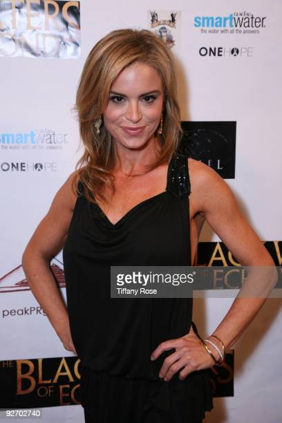 Actress Betsy Russell attends the premiere of The Black Waters of Echo's Pond at Laemmle Theatre on November 3 2009 in Santa Monica California