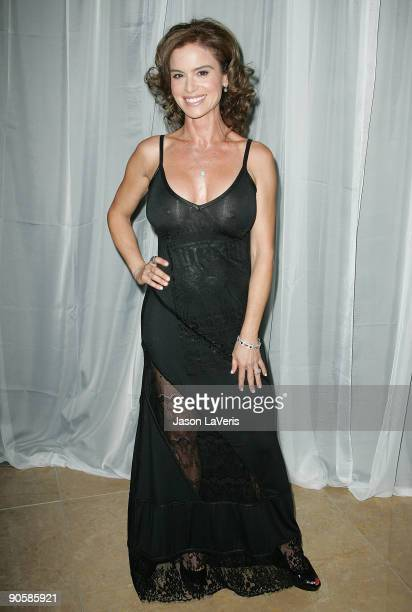 Actress Betsy Russell attends the The 35th Annual Visionary Awards at the Beverly Hilton Hotel on June 12 2008 in Beverly Hills California