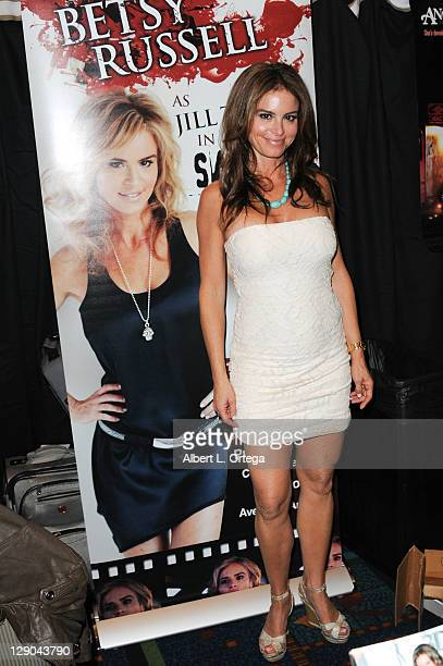 Actress Betsy Russell participates in The 2011 Fall Hollywood Show held at Burbank Airport Marriott Hotel Convention Center on Saturday October 9...