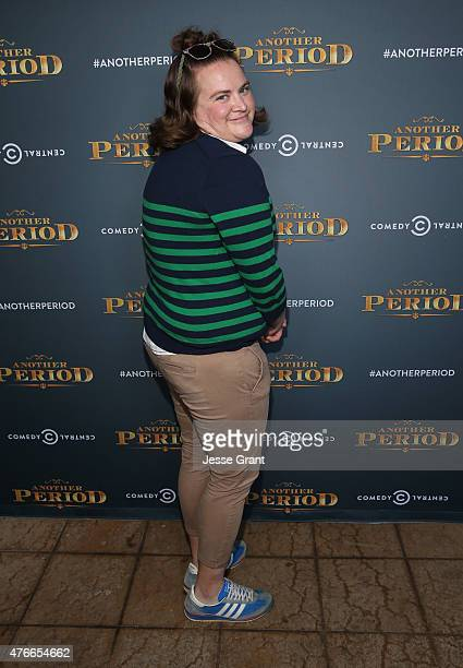 Actress Betsy Sodaro attends Comedy Central's 'Another Period' Premiere Party Event at The Ebell Club of Los Angeles on June 10, 2015 in Los Angeles,...