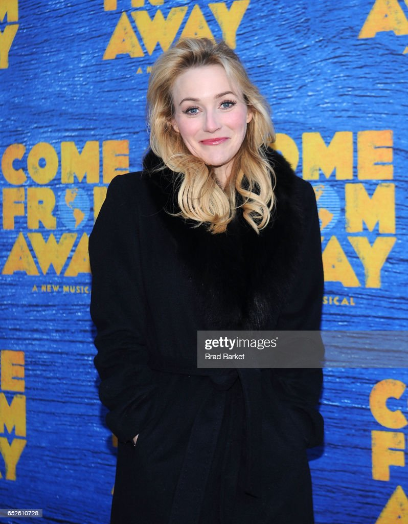 Actress Betsy Wolfe attends the 'Come From Away' Broadway Opening Night - Arrivals & Curtain Call at Gerald Schoenfeld Theatre on March 12, 2017 in New York City.