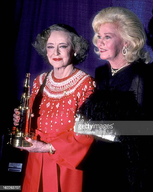Actress Bette Davis and actress Ginger Rogers attend the 1982 American Movie Awards on March 15 1982 at The Palace Theatre in Hollywood California
