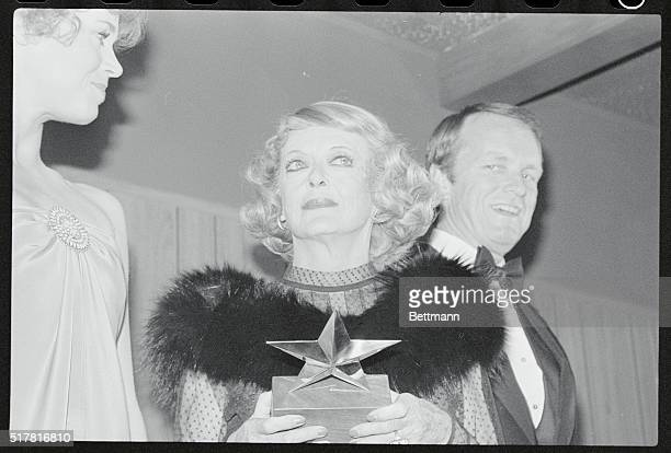 Actress Bette Davis whose career in films spans 46 years was the fifth recipient of the American Film Institute Life Achievement Awards More than...