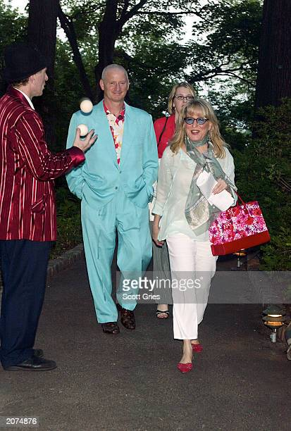 Actress Bette Midler and her husband Martin von Haselberg arrive at the New York Restoration Projects Spring Picnic Benefit at New Leaf Cafe in Fort...