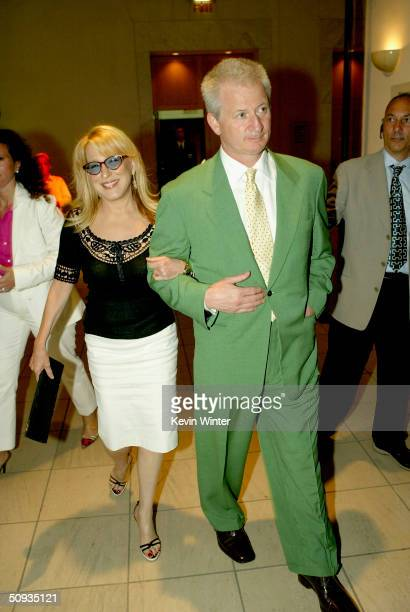 Actress Bette Midler and her husband Martin von Haselberg arrive at the afterparty for Paramount's The Stepford Wives at the Armand Hammer Museum on...
