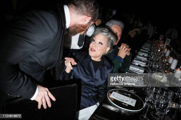 Actress Bette Midler attends the Museum of Modern Art Film Benefit Presented by Chanel A Tribute to Martin Scorsese at the Museum of Modern Art on...