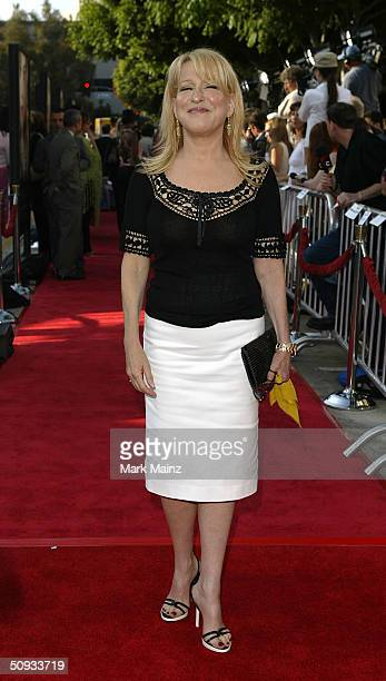 """Actress Bette Midler attends the world premiere of """"The Stepford Wives"""" at Mann's Bruin Theatre June 6, 2004 in Los Angeles, California."""