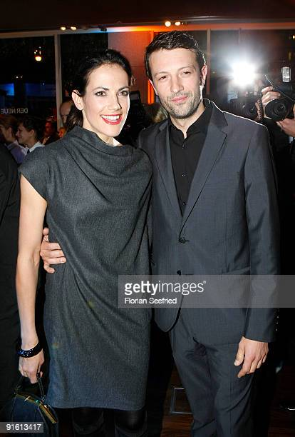 Actress Bettina Zimmermann and cinematographer Vladimir Subotic attend the presentation of the new 'BMW 5er Gran Turismo' and 'BMW X1' at a BMW...