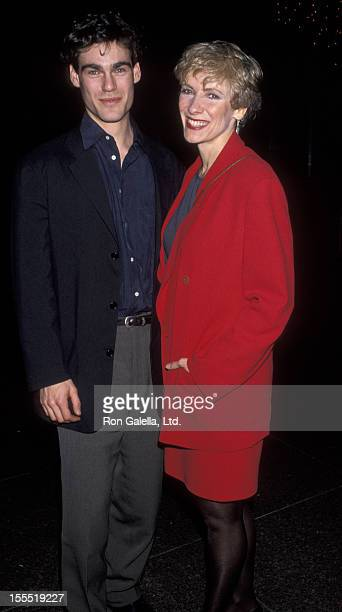 Actress Betty Buckley and actor Grayson McCouch attending the screening of Rain Without Thunder on February 3 1993 at the Director's Guild Theater in...