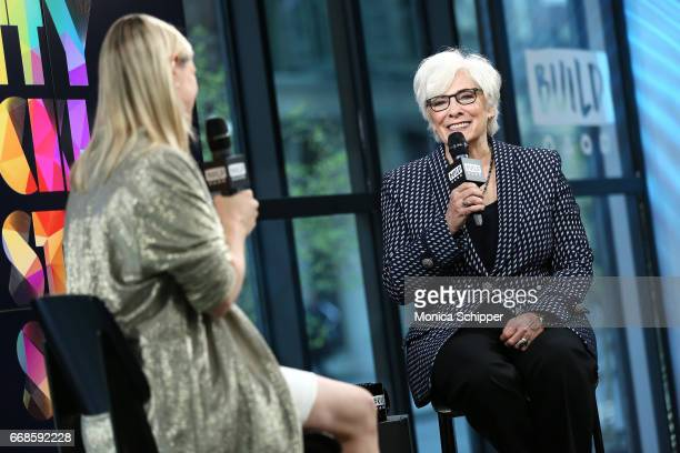 Actress Betty Buckley attends Build Series Presents Betty Buckley Discussing Story Songs at Build Studio on April 14 2017 in New York City