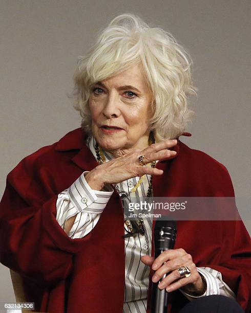 Actress Betty Buckley attends Meet the Actor to discuss Split at Apple Store Soho on January 19 2017 in New York City