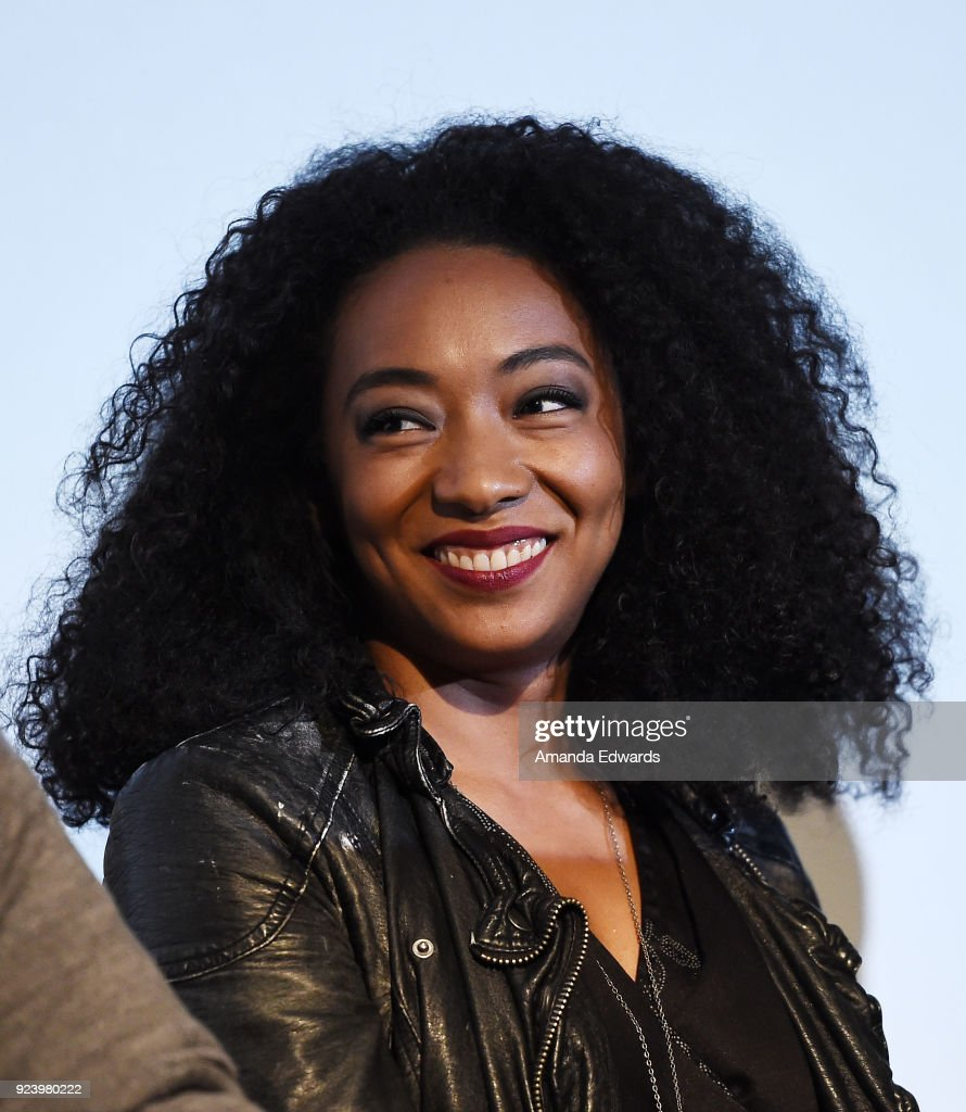 Actress Betty Gabriel attends the Aero Theatre's special screening and Q&A of 'Get Out' at the Aero Theatre on February 24, 2018 in Santa Monica, California.