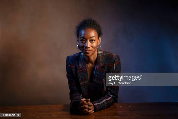 Actress Betty Gabriel from 'Human Capital' is photographed for Los Angeles Times on September 10, 2019 at the Toronto International Film Festival in...
