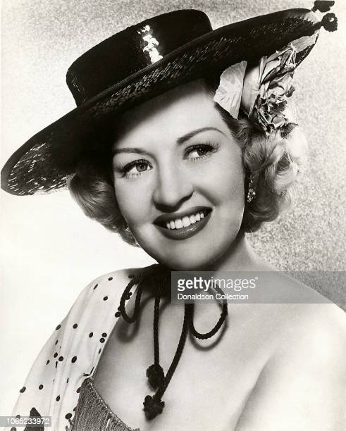 Actress Betty Grable in a scene from the movie When My Baby Smiles at Me