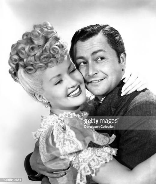 Actress Betty Grable Robert Young in a scene from the movie Sweet Rosie O'Grady