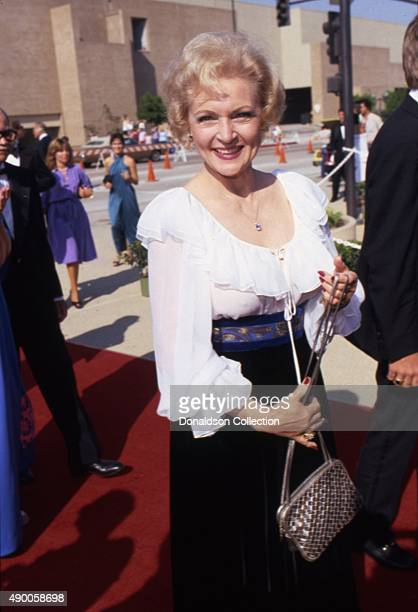 Actress Betty White attends an event in September 1983 in Los Angeles California