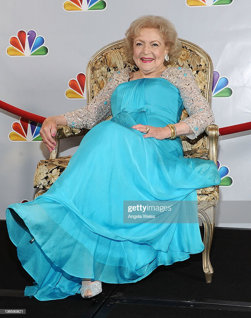 Actress betty white dresses