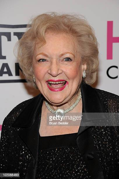 """Actress Betty White attends the """"Hot in Cleveland"""" premiere at the Crosby Street Hotel on June 14, 2010 in New York City."""