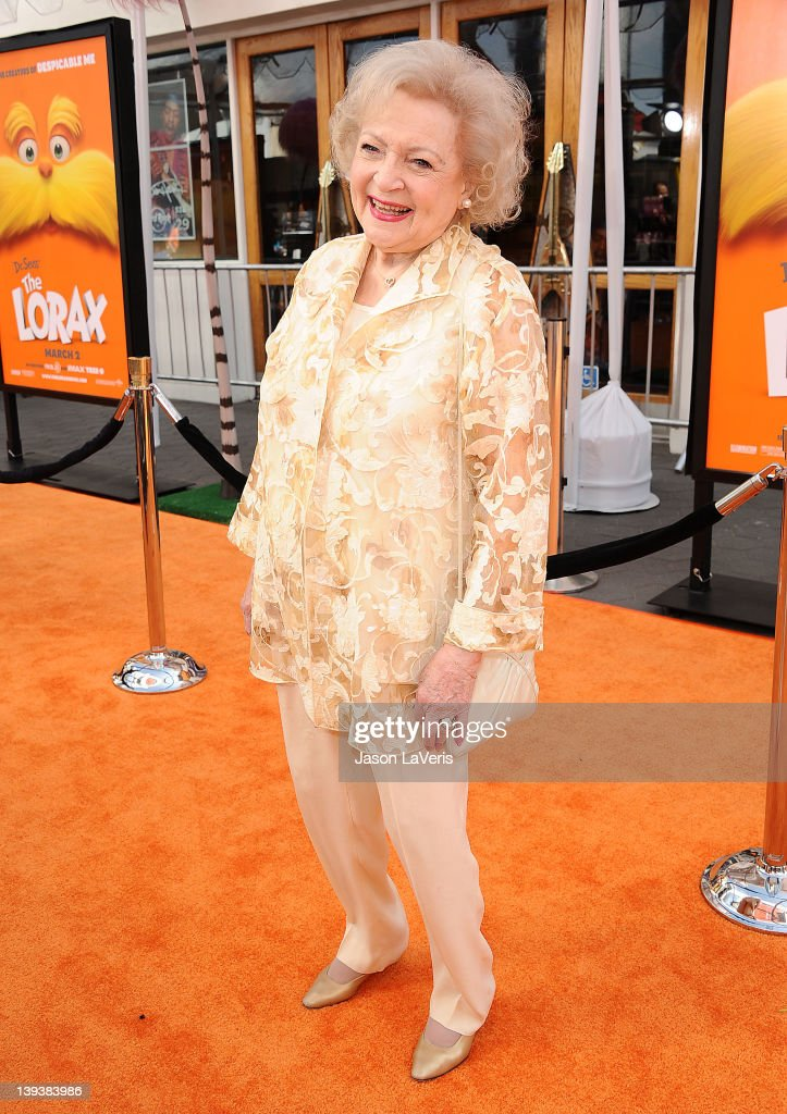 """Dr. Seuss' The Lorax"" - Los Angeles Premiere - Arrivals : News Photo"