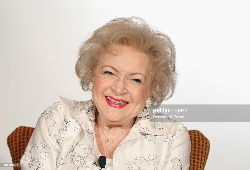 Betty White Signs Her New Book: Betty & Friends