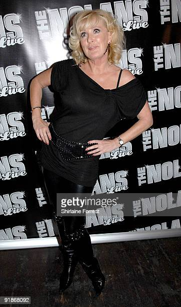 Actress Beverley Callard attends The Nolans Aftershow party at Via on October 13 2009 in Manchester England