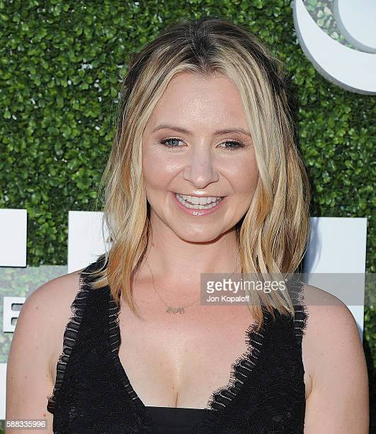 Actress Beverley Mitchell arrives at CBS CW Showtime Summer TCA Party at Pacific Design Center on August 10 2016 in West Hollywood California