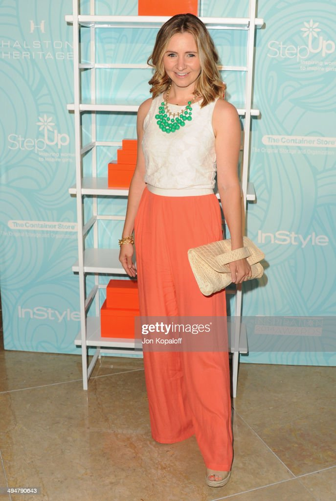 Actress Beverley Mitchell arrives at the Step Up 11th Annual Inspiration Awards at The Beverly Hilton Hotel on May 30, 2014 in Beverly Hills, California.
