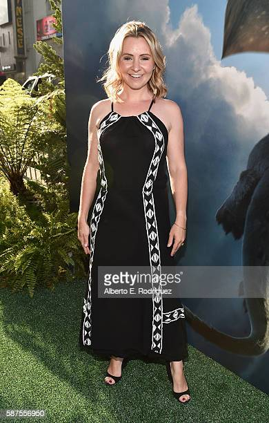 Actress Beverley Mitchell arrives at the world premiere of Disney's 'PETE'S DRAGON' at the El Capitan Theater in Hollywood on August 8 2016 The new...
