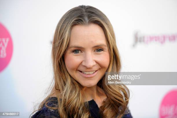 """Actress Beverley Mitchell attends Big City Moms """"The Biggest Baby Shower Ever!"""" event at Skirball Cultural Center on March 18, 2014 in Los Angeles,..."""