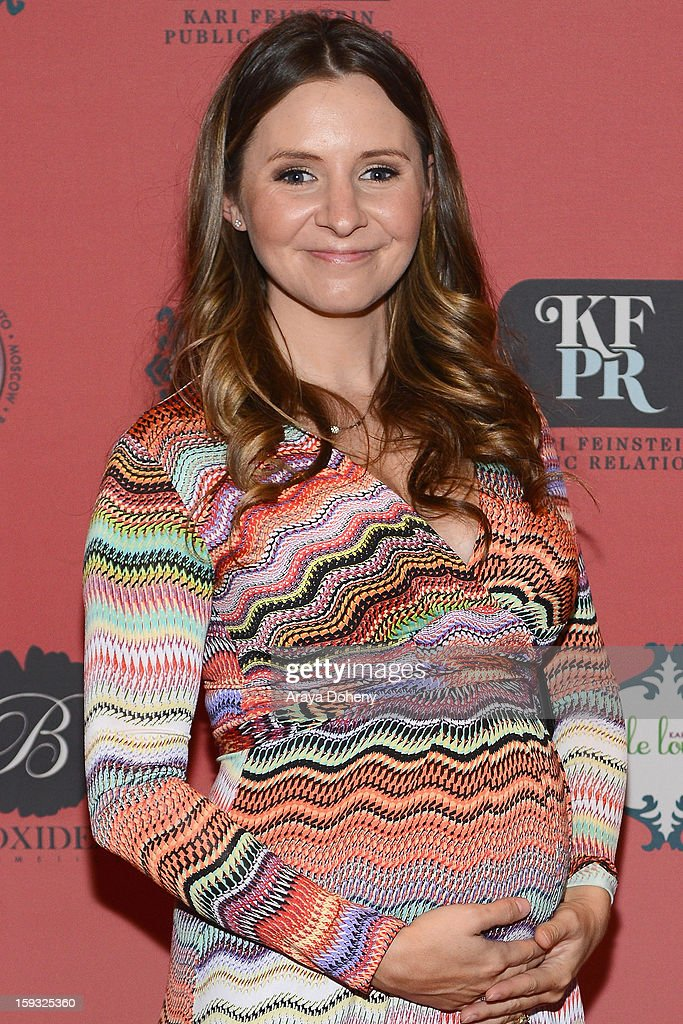 Actress Beverley Mitchell attends Kari Feinstein's Pre-Golden Globes Style Lounge at the W Hollywood on January 11, 2013 in Hollywood, California.