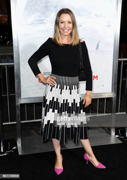 Actress Beverley Mitchell attends the premiere of Geostorm at TCL Chinese Theatre on October 16 2017 in Hollywood California