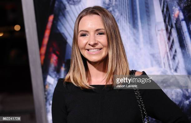 Actress Beverley Mitchell attends the premiere of 'Geostorm' at TCL Chinese Theatre on October 16 2017 in Hollywood California