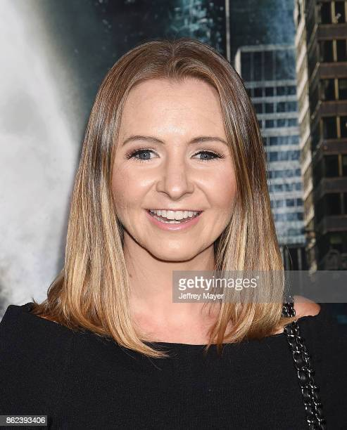 Actress Beverley Mitchell attends the premiere of Warner Bros Pictures' 'Geostorm' at the TCL Chinese Theatre on October 16 2017 in Hollywood...