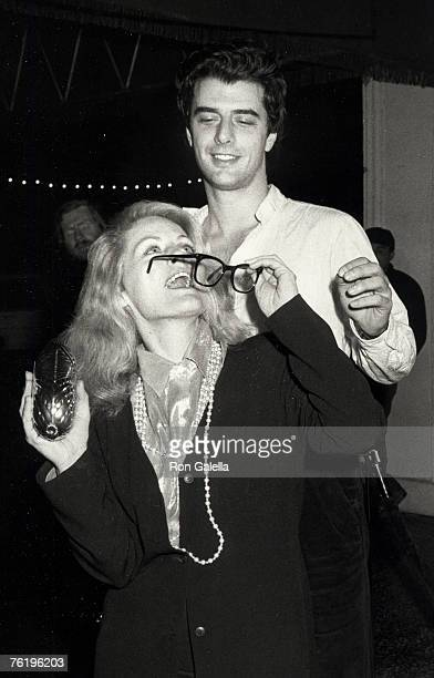 """Actress Beverly D'Angelo and actor Chris Noth attending the premiere of """"Pretty In Pink"""" on January 29, 1986 at Mann Chinese Theater in Hollywood,..."""