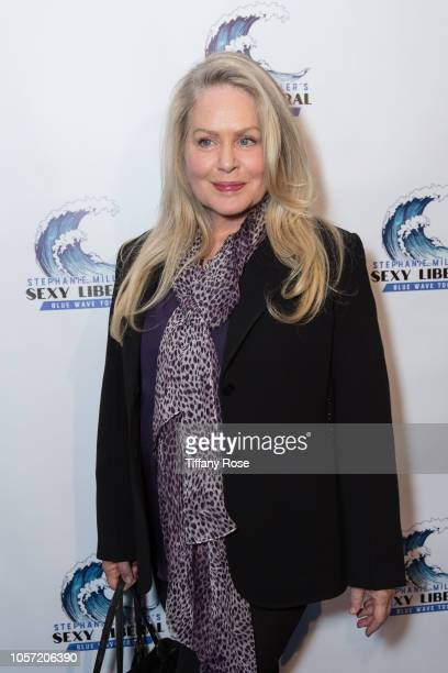Actress Beverly D'Angelo attends Stephanie Miller's Sexy Liberal Blue Wave Tour at The Saban Theatre on November 3 2018 in Beverly Hills California