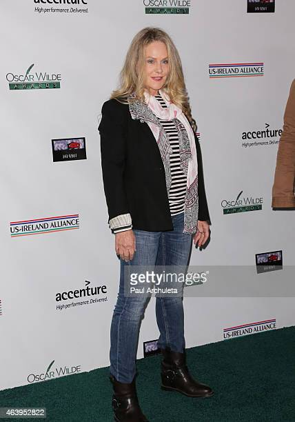 Actress Beverly D'Angelo attends the USIreland Alliance PreAcademy Awards Honors event at Bad Robot on February 19 2015 in Santa Monica California
