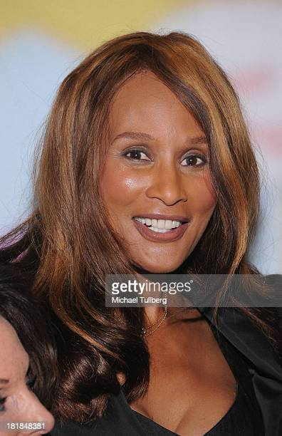 Actress Beverly Johnson attends Still LaughIn A Toast To George Schlatter presented by Pepperdine University at Saban Theatre on September 25 2013 in...