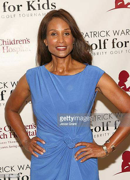 Actress Beverly Johnson attends the Patrick Warburton's Celebrity Golf Tournament and Comedy Show benefiting St Jude held at JW Marriot Desert...