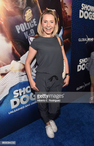 Actress Beverly Mitchell attends the premiere of Global Road Entertainment's Show Dogs at The TCL Chinese 6 Theatres on May 5 2018 in Hollywood...
