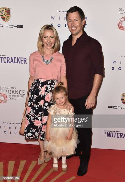 Actress Beverly Mitchell Kenzie Cameron and Michael Cameron attend the premiere of The New George Balanchine's The Nutcracker at The Dorothy Chandler...