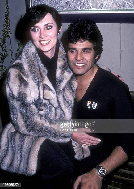 Actress Beverly Sasson and actor Erik Estrada on January 22 1981 dine at Ma Maison Restaurant in West Hollywood California