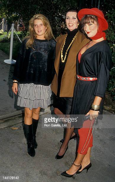 Actress Beverly Sassoon and daughter Catya Sassoon attending 13th Annual Fundraising Benefit for the Santa Monica Rape Treatment Center on September...