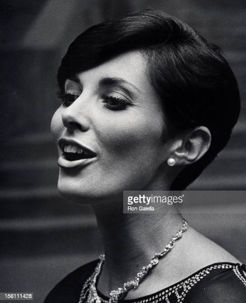 Actress Beverly Sassoon attending 'Beauty Hall of Fame Awards' on December 14 1975 at the Pierre Hotel in New York City New York