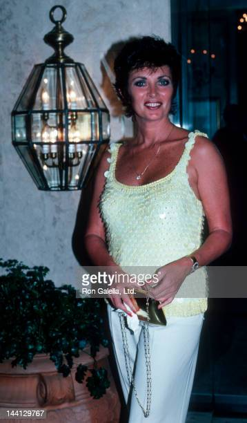 Actress Beverly Sassoon attending Focus Magazine Party on August 7 1986 at Le Bel Age Hotel in Los Angeles California