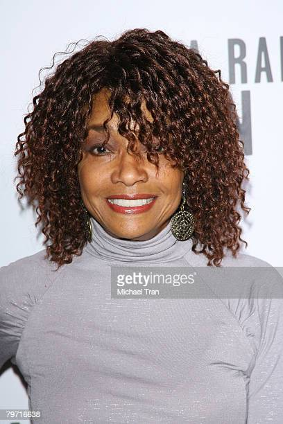 Actress Beverly Todd arrives at the Los Angeles premiere of 'A Raisin in the Sun' held at AMC Magic Johnson Theaters on February 11 2008 in Los...